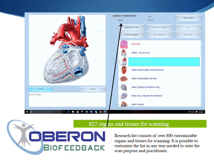 Oberon Bioresonance Machines Software